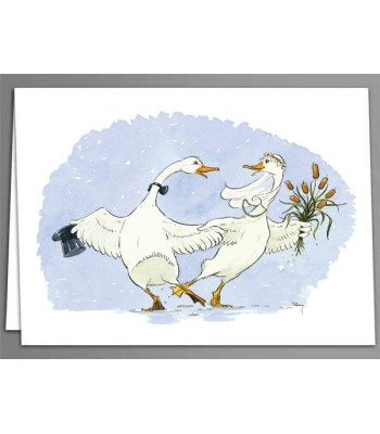 Dancing Duck greeting cards