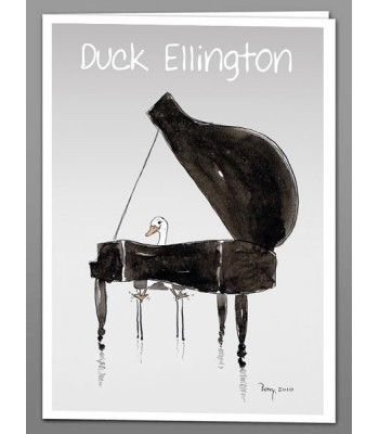 Duck Ellington x 5 greeting cards