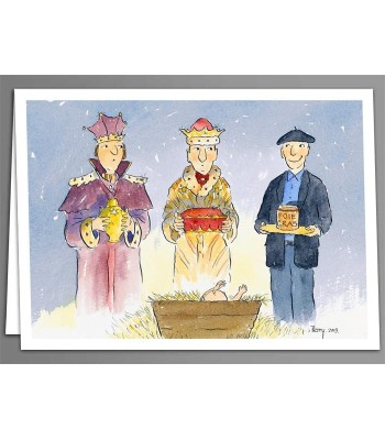 Three Kings x 5 greeting cards