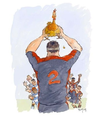 Rugby touche poule